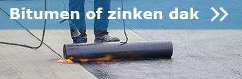 Bitumen of zinken dak